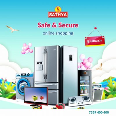 Sathya Online Shopping is the leading retailer for consumer electronics and household appliances Online at reasonable price with best offers. https://www.sathya.in/