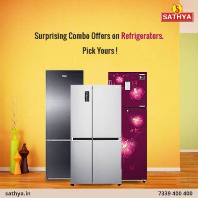 Keeping Vegetables fresh is first step towards Healthy living. Refrigerator price online with amazing discount offer at Sathya Online Shopping.  Sathya Online Shopping Contact: 7339400400 Visit Us: https://www.sathya.in/refrigerator-2