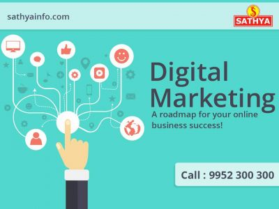 Boost your brand's online presence with the best Digital Marketing Company in India. We are a one stop shop for all your SEO, SMO, and PPC needs. Call us now. https://www.sathyainfo.com/digital-marketing-services