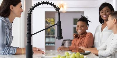 Types of Kitchen Faucet That You Need To Know   Which kitchen faucet should you buy? What should be the features of your dream kitchen faucets? If you are stuck with these silly questions, then keep reading this article to know the types of the best kitchen faucet available in the market. The Best Kitchen Faucets site is available here to give you lots of information about the best kitchen faucet within your budget ranges.   Pull-Down and Pull-Out Spray Kitchen Faucet Perhaps the foremost convenient choices for the preparation of meals and improvement up once the very fact, pull-down, and pull-out kitchen faucets incorporate a separate spray feature that distinguishes them from ancient faucets. In contrast, one in all the largest criticisms of pull-downs is their additional difficult profile as compared with a regular faucet.  Pull-out kitchen faucets usually supply a shorter spout height however a rather larger transferable head section. That additional size makes this variety of faucets a bit larger within the hand, permitting a fuller and more leisurely grip, that may be a favorable prospect for several.   Single-Handle Kitchen Faucets If you are trying to maximize is in your sink space, and so limit the number of kitchen faucet components gift, then one-handle regulator might otherwise be your most well-liked possibility – their style permits for each water temperature and volume to be controlled by a single lever. Representing one in all the primary widespread trendy regulator advancements, these reasonably the best kitchen faucet supplies straightforward practicality and minimalistic, trendy aesthetics. They are additionally wide offered in a formidable sort of modern and ancient styles.   Two-Handle Kitchen Faucet And for those searching for the last word in terms of a classic kitchen faucet, a two-handle style is probably going the simplest alternative. While unable to match up to its counterparts for speed and potency, the responsibility and dashing style o